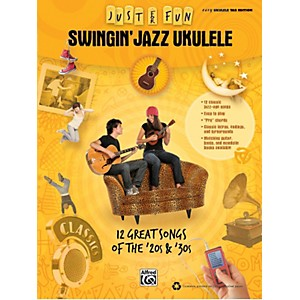Alfred-Just-for-Fun--Swingin--Jazz-Ukulele--Music-Book--Standard