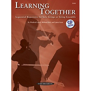 Summy-Birchard-Learning-Together-for-Upright-Bass--Book-CD--Standard