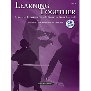 Summy-Birchard-Learning-Together-for-Viola--Book-CD--Standard