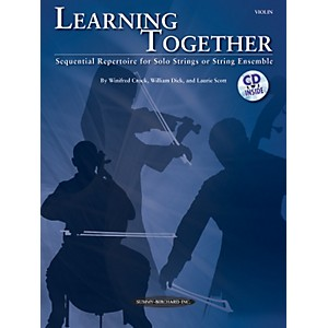 Summy-Birchard-Learning-Together-for-Violin--Book-CD--Standard