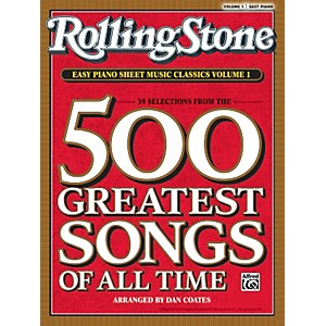 Alfred-Rolling-Stone-Easy-Piano-Sheet-Music-Classics-Volume-1--Book--Standard