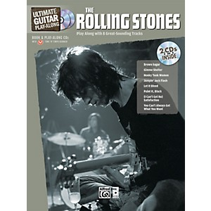 Alfred-The-Rolling-Stones-Ultimate-Guitar-Play-Along--Book-2-CD--Standard