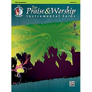 Alfred-Top-Praise---Worship-Instrumental-Solos---Alto-Sax--Level-2-3--Book-CD--Standard