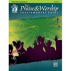 Alfred-Top-Praise---Worship-Instrumental-Solos---Violin--Level-2-3--Book-CD--Standard