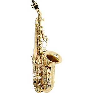 Allora-Vienna-Series-Intermediate-Curved-Soprano-Saxophone-AASC-503---Lacquer