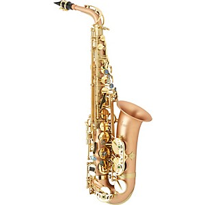 Allora-Boss-2-Professional-Alto-Saxophone-AAAS-908---Copper-Body---Brass-Lacquer-Keys