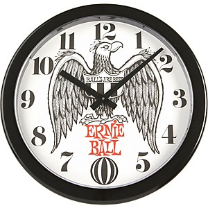 Ernie-Ball-Logo-Wall-Clock-Standard