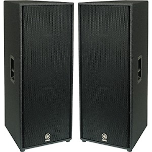 YAMAHA-C215V-Dual-15--2-Way-Club-Speaker-Pair-Standard