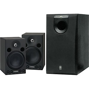Yamaha-MSP3-SW005-Powered-Studio-Monitor-System-Standard