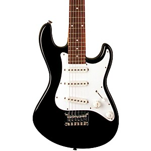 Dean-Playmate-Avalanche-J-3-4-Size-Electric-Guitar-Classic-Black
