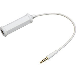 Peterson-3-5mm---1-4in-iPhone-iTouch-Adapter-Cable-White