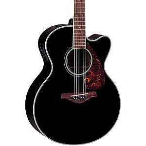 Yamaha-FJX720SC-Solid-Spruce-Top-Mahogany-Acoustic-Electric-Guitar-Black