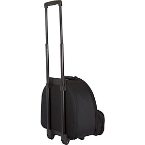 Protec-CP116WL-Student-Snare-Bag-with-Wheels-Black