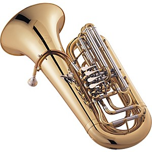 Jupiter-780-Concert-Series-4-Valve-3-4-BBb-Tuba-Lacquer-Yellow-Brass-Bell