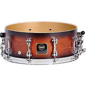 GMS-Revolution-Maple-Brass-Snare-Drum-5-5x14-Ebony