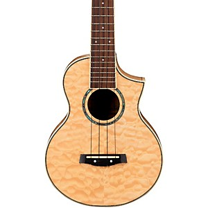 Ibanez-UEW10QM-EW-Concert-Ukulele---Quilted-Maple-Natural