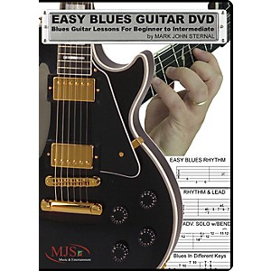 MJS-Music-Publications-Easy-Blues-Guitar-DVD--Blues-Guitar-Lessons-For-Beginner-through-Intermediate-Standard