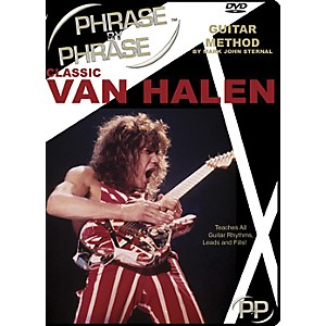 MJS-Music-Publications-Classic-Van-Halen-Phrase-by-Phrase-Guitar-Method--DVD--Standard