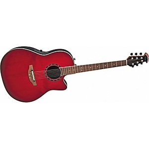 Ovation-Standard-Balladeer-1771-AX-Acoustic-Electric-Guitar-Cherry-Cherry-Burst