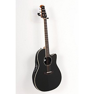 Ovation-Standard-Balladeer-1771-AX-Acoustic-Electric-Guitar-Black-888365133881