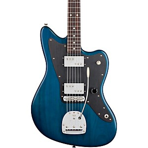 Fender-Lee-Ranaldo-Jazzmaster-Electric-Guitar-Sapphire-Blue-Transparent