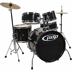 PDP-Player-5-Piece-Junior-Drum-Set-with-Cymbals-and-Throne-Black