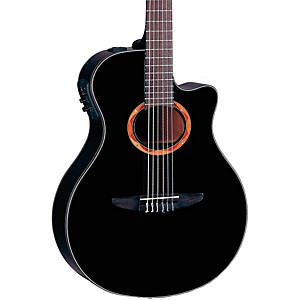Yamaha-NTX700-Acoustic-Electric-Classical-Guitar-Black