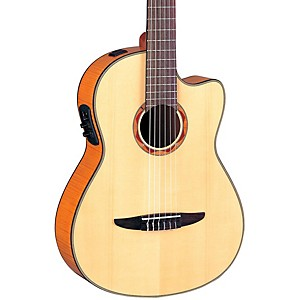 Yamaha-NCX900-Acoustic-Electric-Classical-Guitar-Flamed-Maple