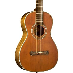 Washburn-R319SWKK-Parlor-Acoustic-Guitar-Vintage-Natural