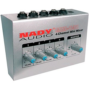 Nady-MM-141-4-Channel-Mini-Mixer-Standard