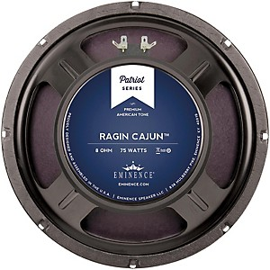 Eminence-Patriot-Ragin--Cajun-10--75W-Guitar-Speaker-10-Inches