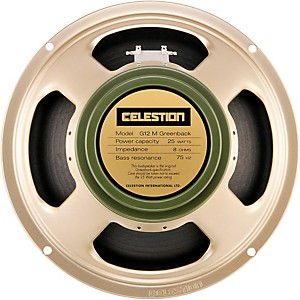 Celestion-G12M-Greenback-25W--12--Guitar-Speaker-16-ohm