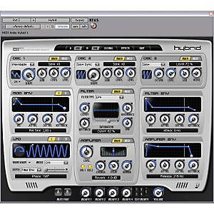 Digidesign-Hybrid---High-Definition-Synthesizer-Standard