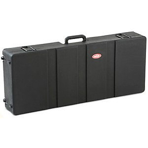 SKB-1SKB-R4215W-Roto-Molded-61-Note-Keyboard-Case-Black