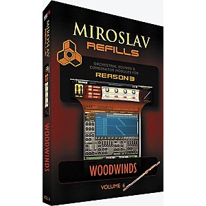 IK-Multimedia-Miroslav-Refills-for-REASON-Volume-6---Woodwinds-Standard