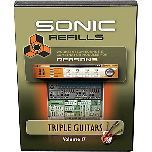 Sonic-Reality-Reason-3-Refills-Vol--17--Triple-Guitars-Standard