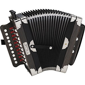 Hohner-3002B-Ariette-Folk-Cajun-Accordion-Black