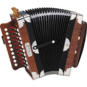 Hohner-3002-Ariette-Folk-Cajun-Accordion-Natural-Brown