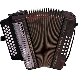 Hohner-3500-Corona-II-GCF-Diatonic-Accordion-Red-Pearl