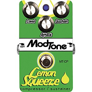 Modtone-Lemon-Squeeze-Compressor-Guitar-Effects-Pedal-Standard