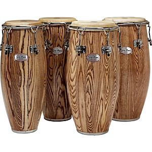 Gon-Bops-Alex-Acuna-Series-Super-Quinto-Drum-Ebony-Lacquer