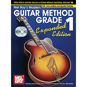 Mel-Bay-Modern-Guitar-Method-Expanded-Edition-Vol--1-Book-2-CD-Set-Standard