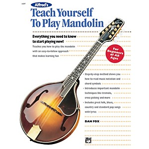 Alfred-Teach-Yourself-To-Play-Mandolin-Book-Standard