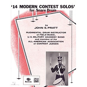 Alfred-14-Modern-Contest-Solos-for-Snare-Drum-Book-Standard