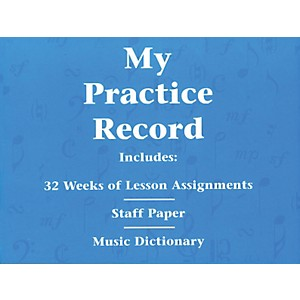 Hal-Leonard-My-Practice-Record-Book---Includes-32-weeks-of-lesson-assignments-and-a-music-dictionary-Standard