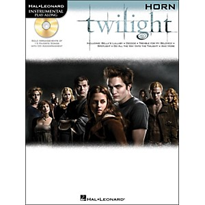 Hal-Leonard-Twilight-For-Horn---Music-From-The-Soundtrack---Instrumental-Play-Along-Book-CD-Pkg-Standard