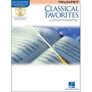 Hal-Leonard-Classical-Favorites-Trumpet-Book-CD-Instrumental-Play-Along-Standard