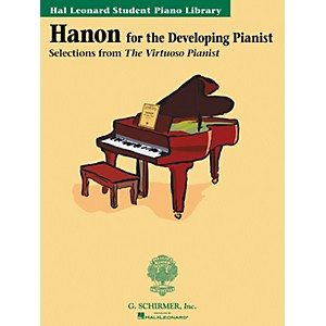 G--Schirmer-Hanon-For-The-Developing-Pianist-Book-Only-Technique-Classics-Hal-Leonard-Student-Piano-Library-by-P-Standard