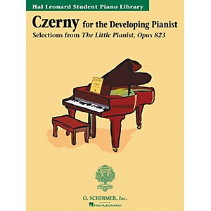 G--Schirmer-Czerny-Book-Only-Selections-From-The-Little-Pianist-Opus-823-Hal-Leonard-Student-Piano-Library-Standard