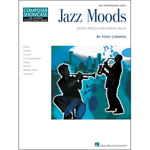 Hal-Leonard-Jazz-Moods---Eight-Pieces-For-Piano-Solo-Composer-Showcase-Level-5-Late-Intermediate-Hal-Leonard-Stu-Standard